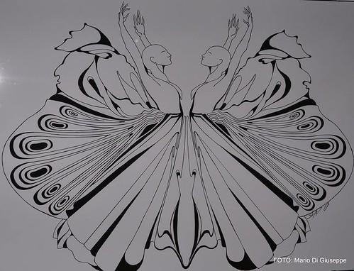 Silvana Bellomira e il volo delle farfalle