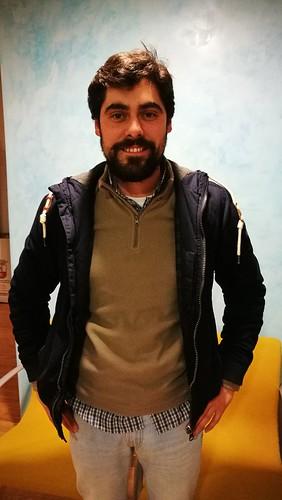 Jorge Hidalgo, director de la comparsa Algunos hombres buenos