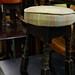 Low fabric stool E35