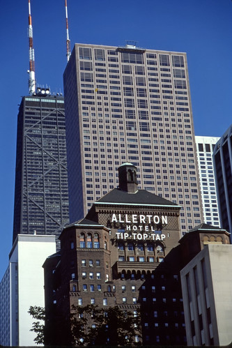 Allerton Hotel, Chicago - Kodachrome - 1987