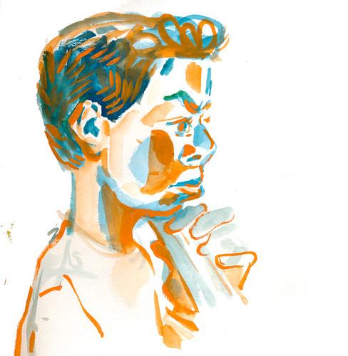 Sketchbook #111: Cello Practice