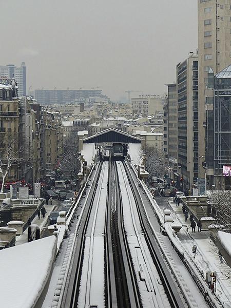 métro à Passy