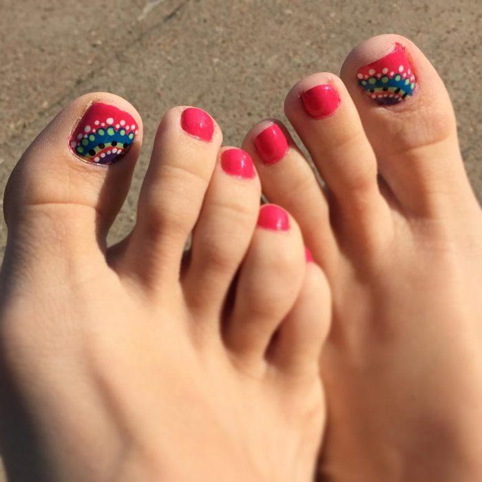 33+ Wonderful Toe Nail Art Designs Ideas 2018 - Nails C