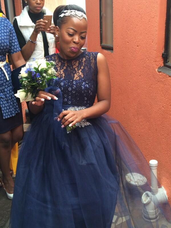 Blue Shweshwe Wedding Decor Wedding Dress Decore Ideas