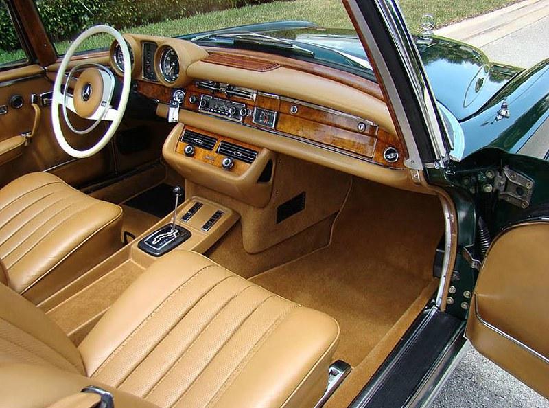 1971 Mercedes Benz 280SE 3.5 Cabriolet
