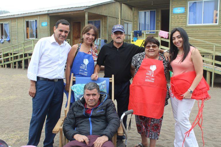 ILOCA; SENDA y municipalidad de Curicó realizó campaña de prevención del consumo de sustancias con veraneantes