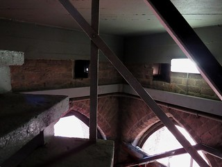 Twee voormalig steigergaten, nu nestruimtes Stevenskerktoren