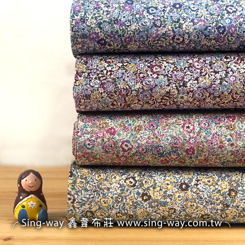 小碎花 優雅碎花花園花卉 手工藝DIy拼布布料 CA450713
