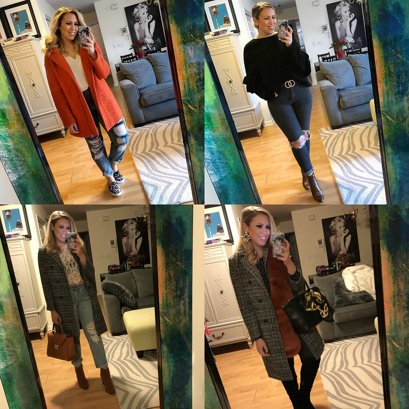 Daily Outfit Inspiration Winter Mirror Photos