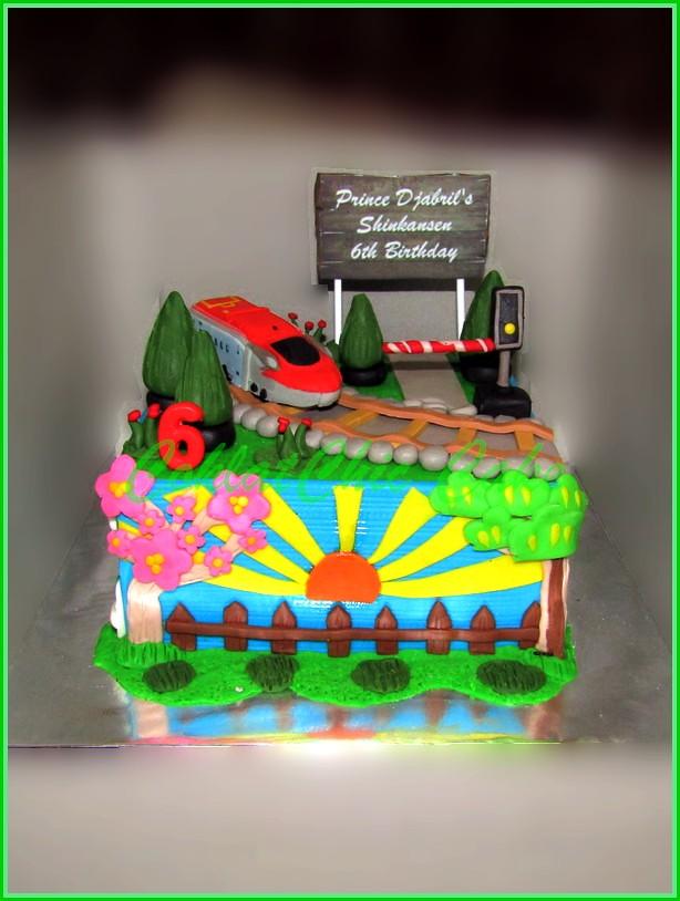 Cake Shinkansen Prince Djabril 15 cm