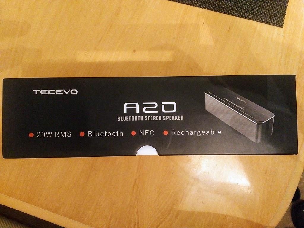 TECEVO A20 Aluminium Bluetooth Speaker ***SOLD*** - The