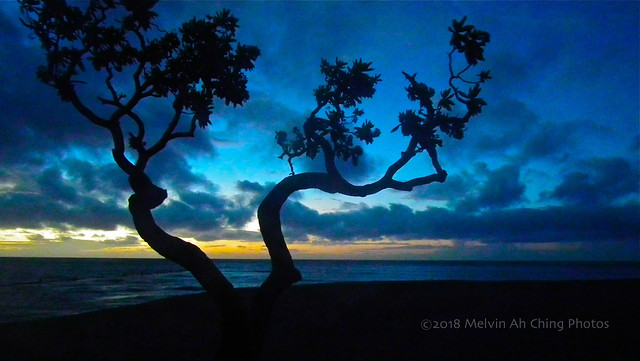 Kahala Beach Sunrise