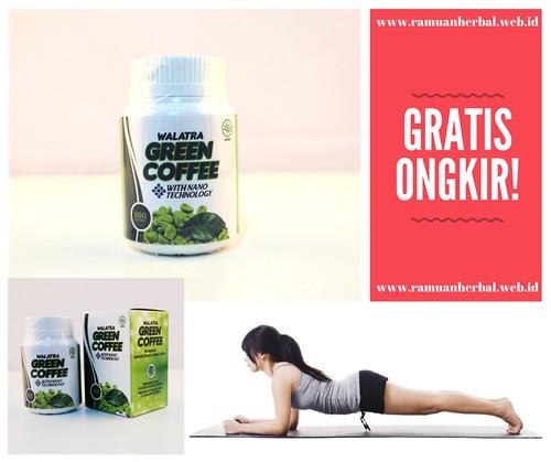 Obat Langsing Tanpa Diet Walatra Green Coffee Capsule Herbal