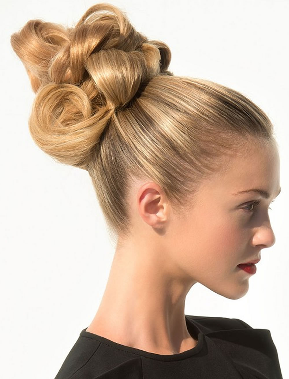 Updo Hairstyles For Round, Square Oval Faces 2018 - 2019