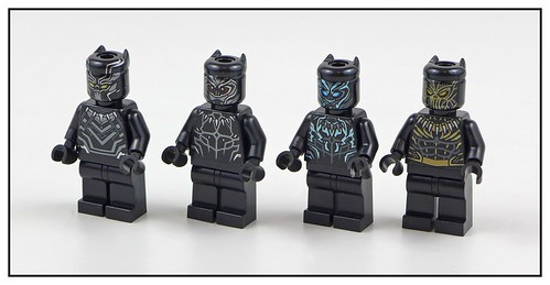 LEGO Marvel Super Heroes Black Panther 76099 & 76100 figures 02