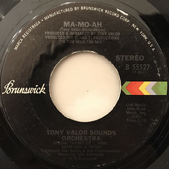 TONY VALOR SOUNDS ORCHESTRA:MA-MO-AH(LABEL SIDE-A)