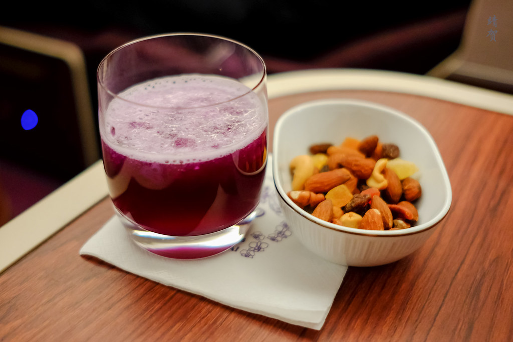 Nuts and drinks