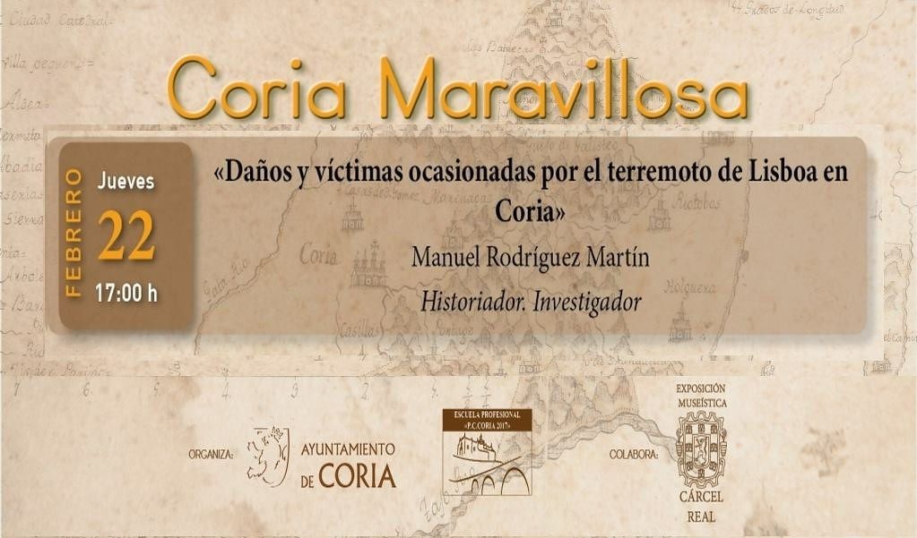 Coria Maravillosa celebra la tercera conferencia con el historiador Manuel Rodríguez Martín