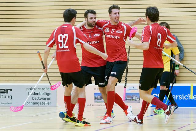 United Toggenburg Bazenheid vs. Bülach Floorball (13.01.2018)