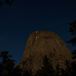 Climbers Descening Devils Tower