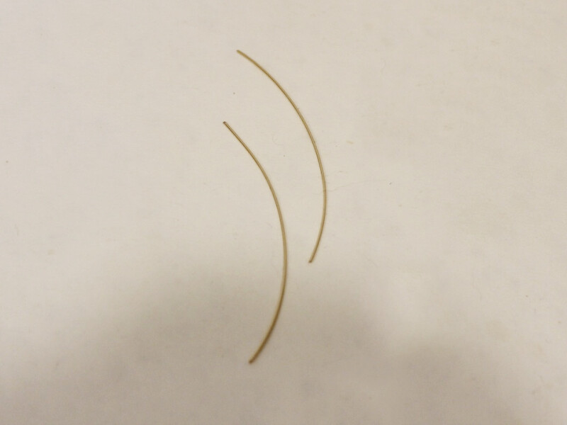two pieces of wire