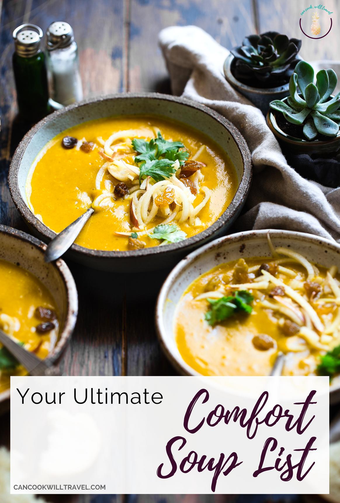 comfort soups