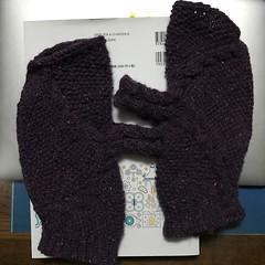 ベルント・ケストラーの縄編みミトン