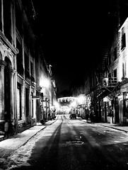 St Paul Street by night