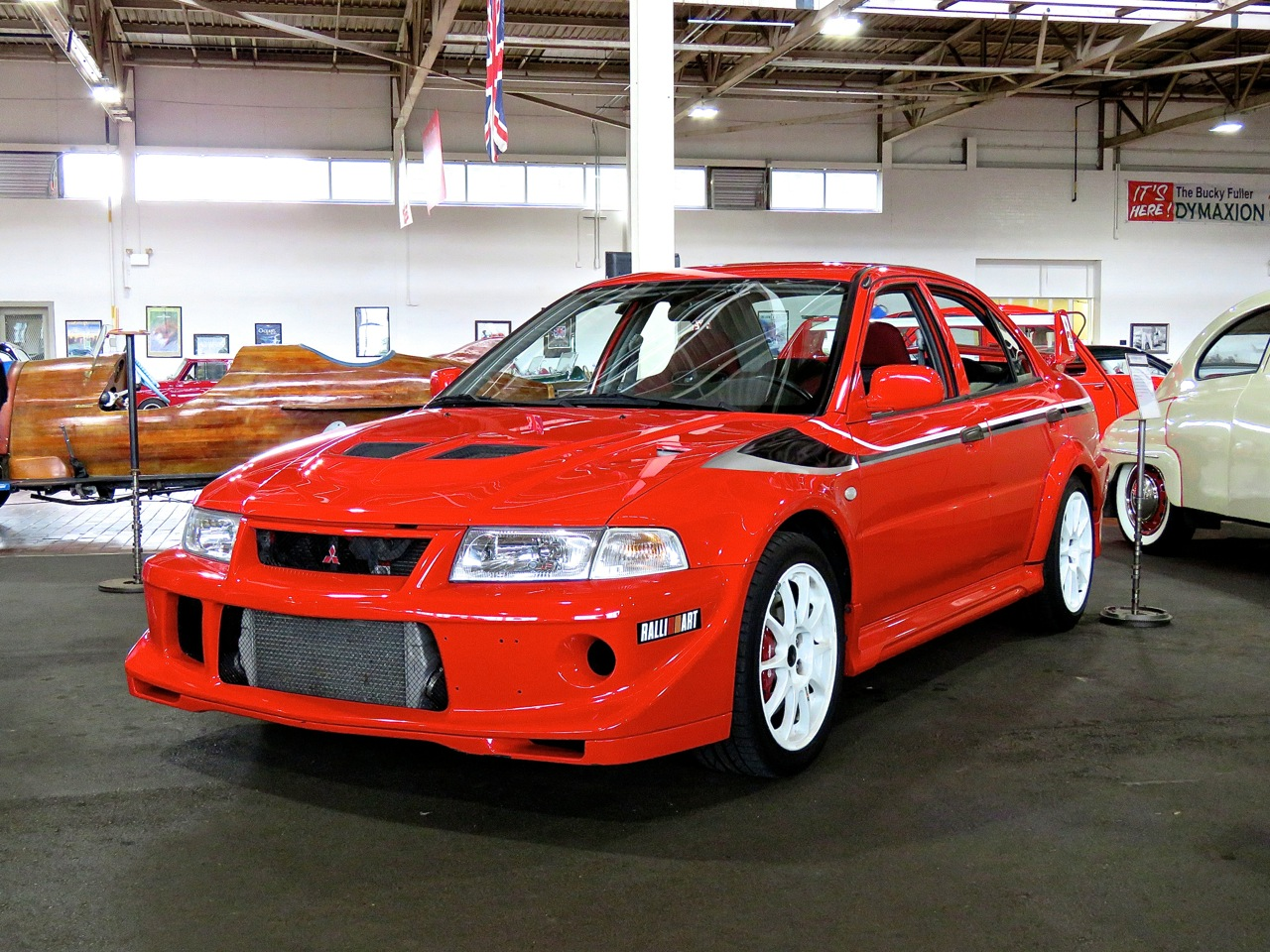 Lancer Evo VI Tommy Makinen Edition Lane Museum 2