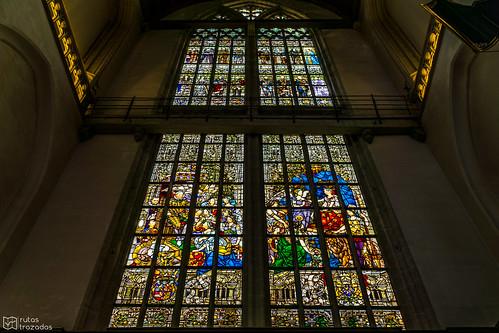 De Nieuwe Kerk Vitral