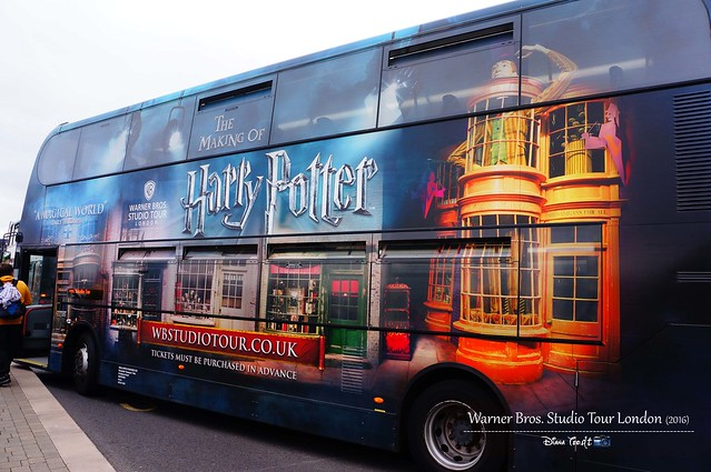 The Making of Harry Potter Studio Tour London Shuttle Bus