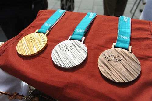 2018 Winter Olympic medals