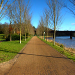 Pathway at Miller Park, Preston