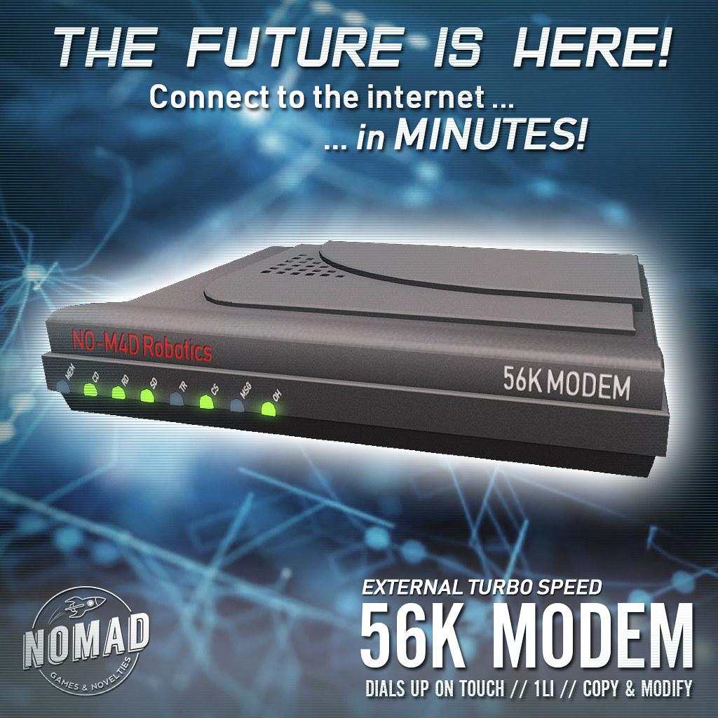NOMAD // 56k Modem - TeleportHub.com Live!