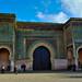 Old Bab Mansour gate, Meknes, Morocco