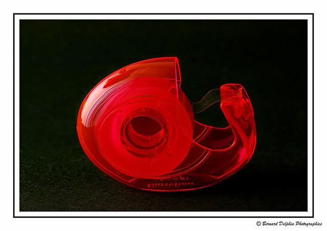 l'escargot rouge