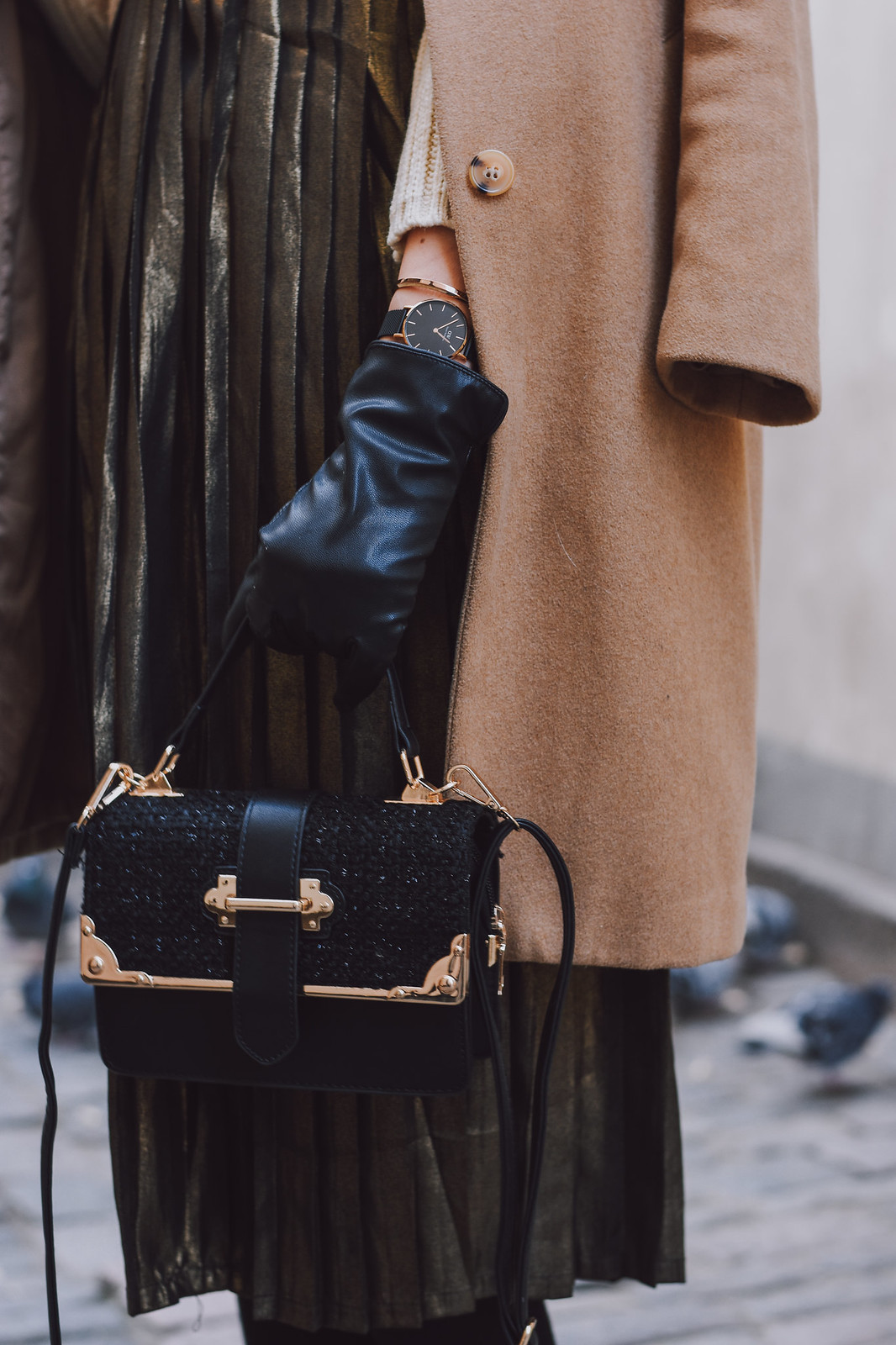 Winter outfit details