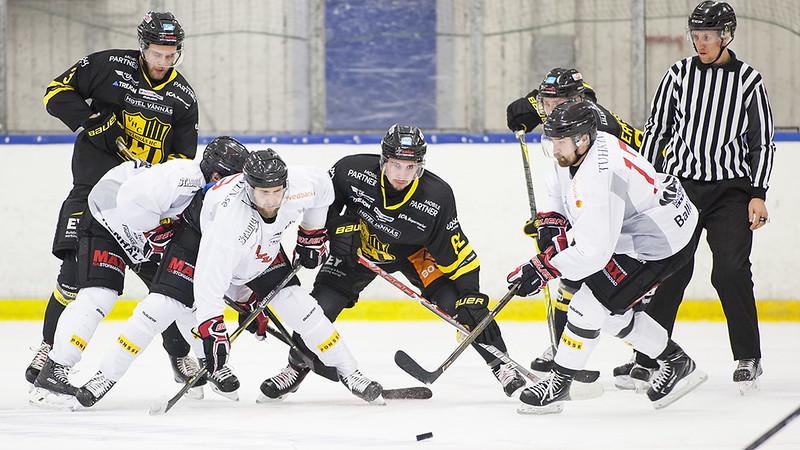 Hockeyettan vår Vännäs HC - Asplöven 2018-01-17