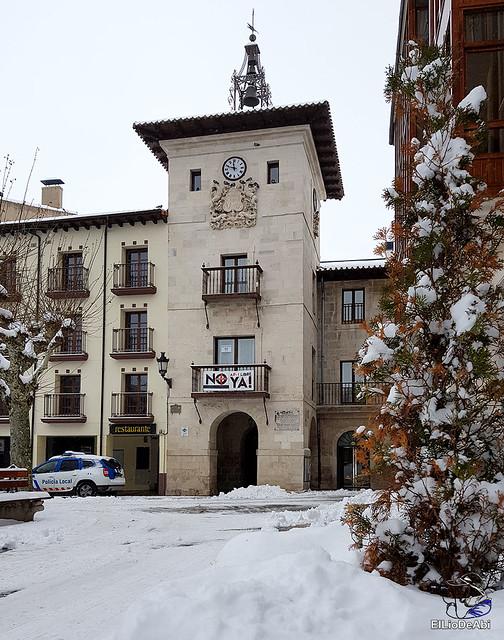 Por fin, nieva este año en Briviesca  (6)