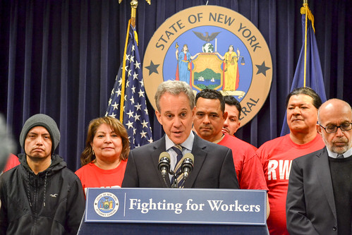A.G. Schneiderman Sues Tropical Breeze Car Wash For Allegedly Cheating Over 150 Minimum Wage Employees Out Of More Than $540,000 In Wages And Benefits