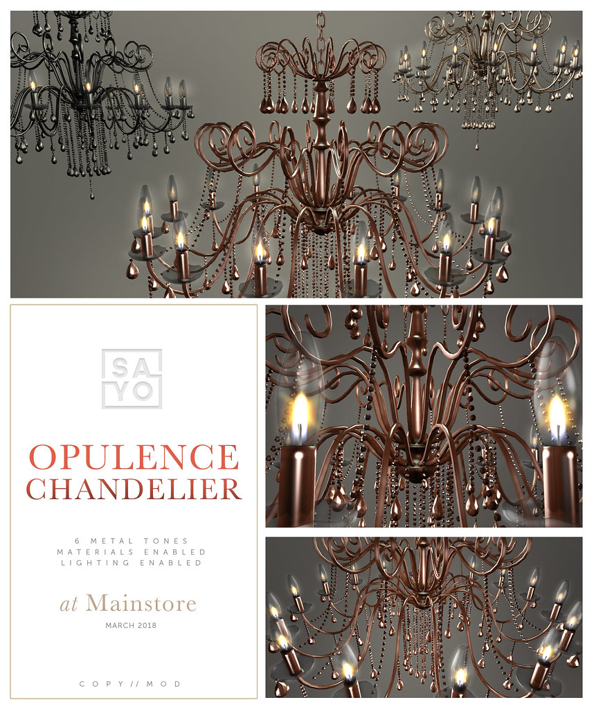 SAYO – Opulence Chandelier @ Mainstore