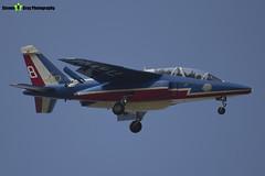 E165 8 F-TERE - E165 - Patrouille de France - French Air Force - Dassault-Dornier Alpha Jet E - RIAT 2013 Fairford - Steven Gray - IMG_9898
