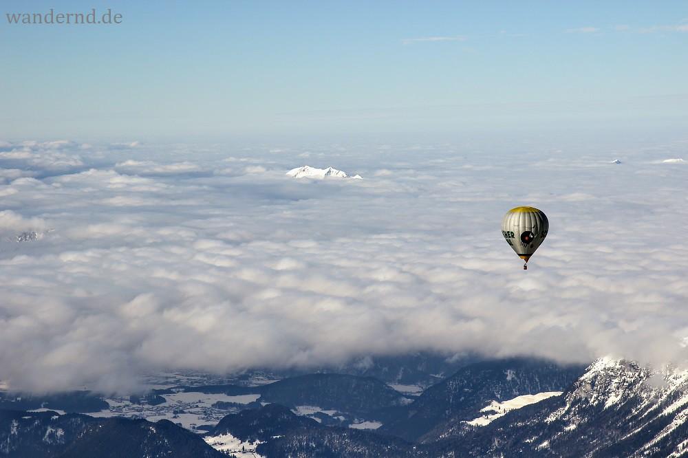 Hot Air Balloon Ride Tyrol - Ballonfahrt Tirol