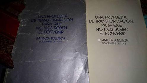 El libro de Patricia Bullrich
