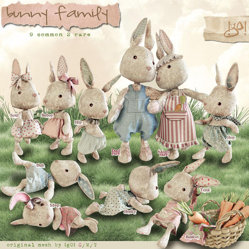 !gO! Bunny Family - Gacha Key - TeleportHub.com Live!