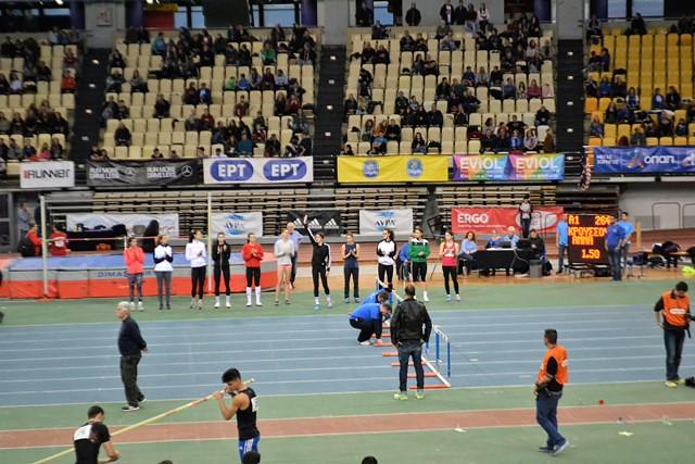 Γυμναστικός Σύλλογος, Πανελλήνιο Πρωτάθλημα Κλειστού Στίβου