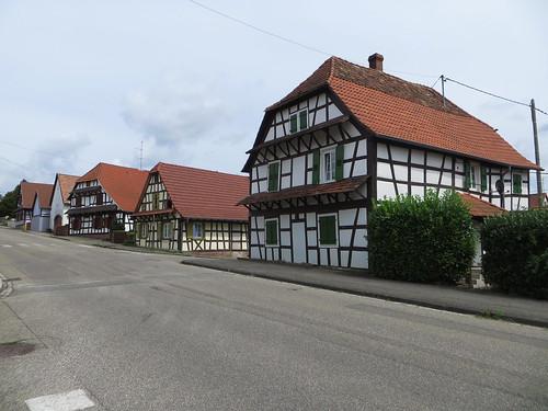20140803 01 182 Jakobus Surbourg Fachwerkhaus Hausfassaden