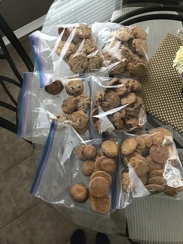 Freshly baked cookies. Sigh.