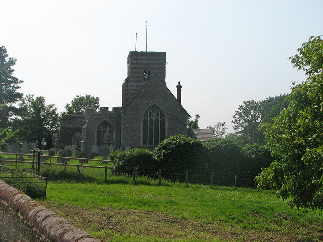 Fingringhoe church