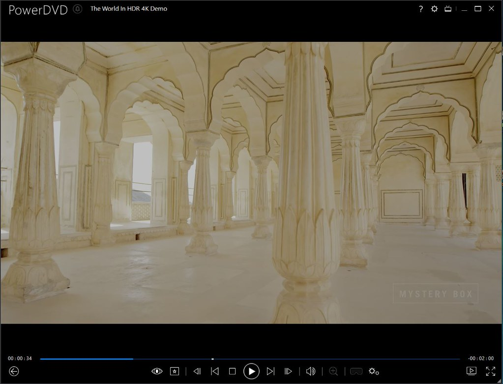 Update to support 4K HDR playback using Nvidia graphic card?